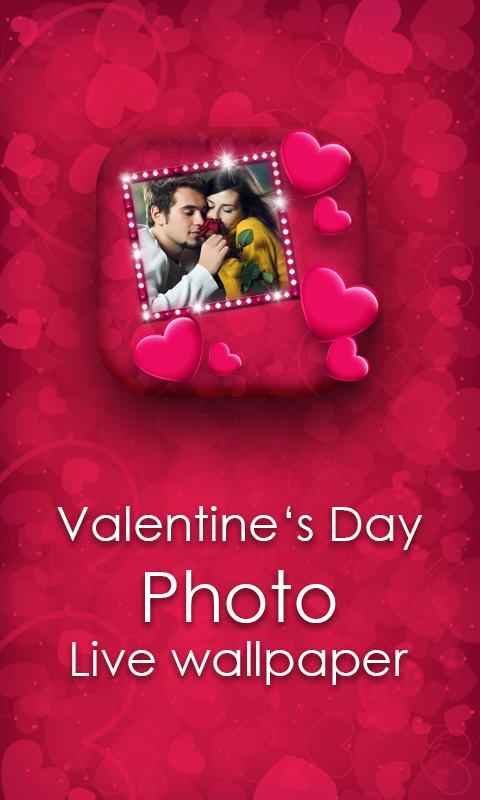 Valentines Day Photo LWP 7 تصوير الشاشة