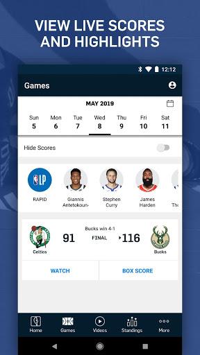 NBA: Live Games & Scores screenshot 7