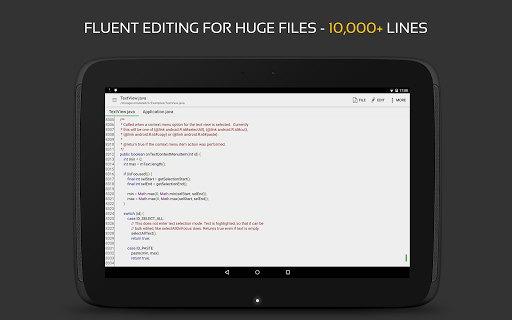 QuickEdit Text Editor - Writer & Code Editor screenshot 16