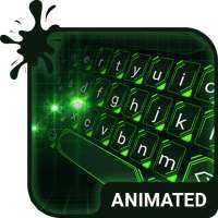 Green Light Animated Keyboard   Live Wallpaper on APKTom