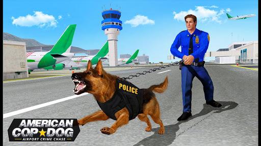 US Police Dog 2019: Airport Crime Shooting Game 4 تصوير الشاشة