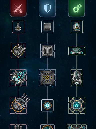 Space Arena: Build a spaceship & fight 4 تصوير الشاشة