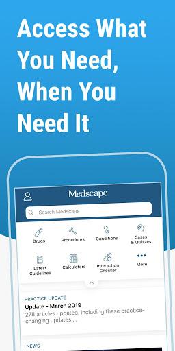 Medscape 1 تصوير الشاشة