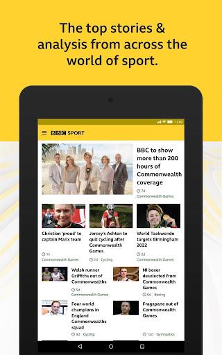 BBC Sport - News & Live Scores 6 تصوير الشاشة