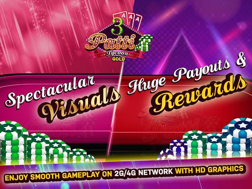 Teen Patti Tycoon Gold Indian Poker 2 تصوير الشاشة