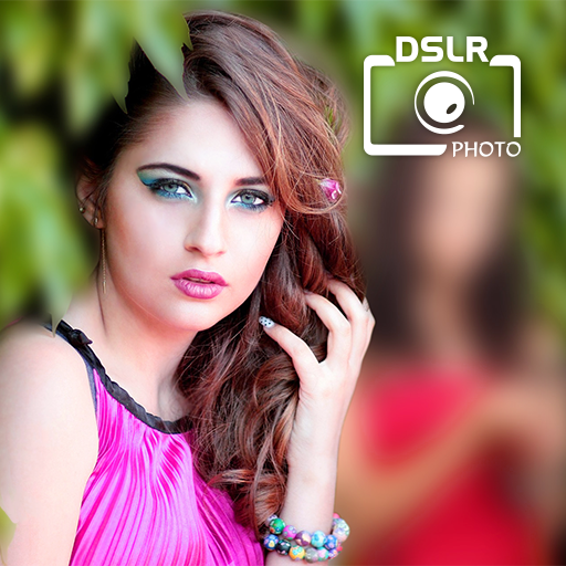 DSLR Image Blur Background , Bokeh Effects Photo أيقونة