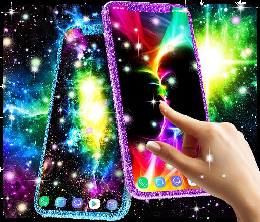 Glowing live wallpaper 1 تصوير الشاشة