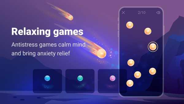 Stress Control Norbu - relaxing games, meditation screenshot 1