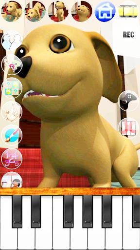 甘い話す子犬:おかしい犬 - Pet Games Free screenshot 3