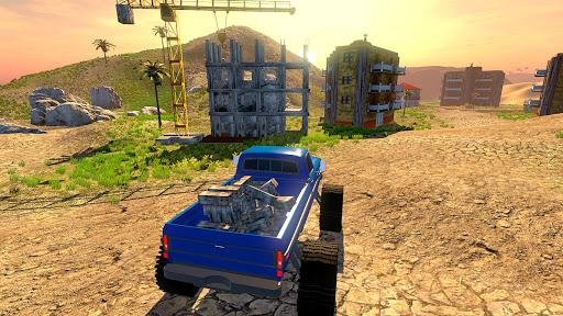 Off road Truck Simulator: Tropical Cargo screenshot 4