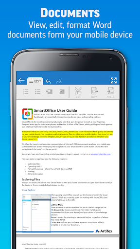 SmartOffice - View & Edit MS Office files & PDFs screenshot 2