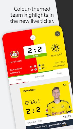 BUNDESLIGA - Official App 5 تصوير الشاشة