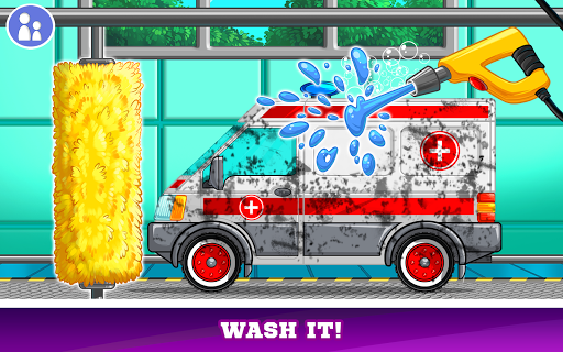 Kids Cars Games! Build a car and truck wash! screenshot 10