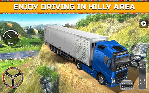 PK Cargo Truck Transport Game 2018 screenshot 6