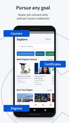Coursera 3 تصوير الشاشة