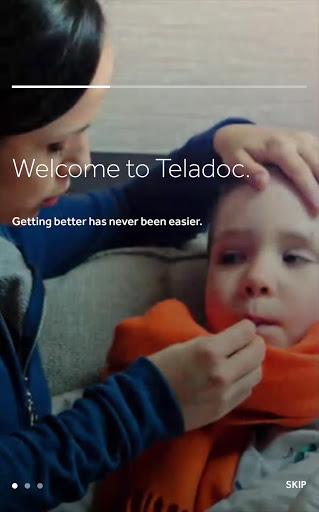 Teladoc screenshot 1