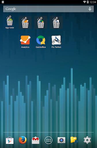 App Eater (Uninstaller) 8 تصوير الشاشة