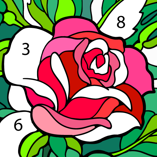 Happy Color™ – Color by Number. Coloring games. icon