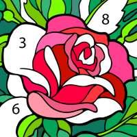 لوّن بالأرقام: كتاب تلوين صور جديد مجاناً on 9Apps