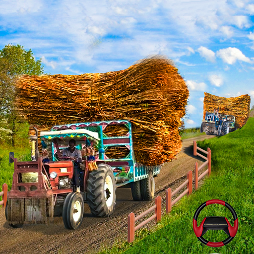 Tractor Trolley Cargo Game : Farming Simulation 20 icon