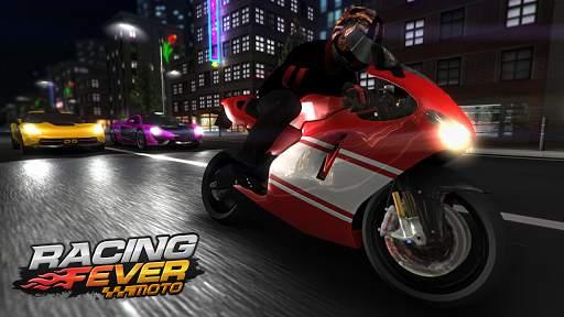 Racing Fever: Moto screenshot 1