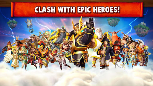 Hero Sky: Epic Clash screenshot 2
