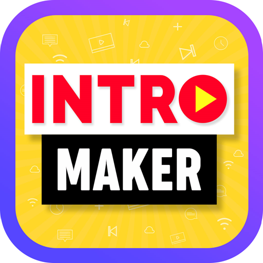 Intro Maker, Outro Maker, Intro Templates أيقونة