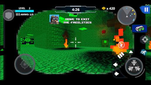 Cube Wars Battle Survival 14 تصوير الشاشة