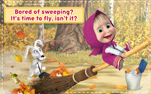 Masha and the Bear: House Cleaning Games for Girls screenshot 24