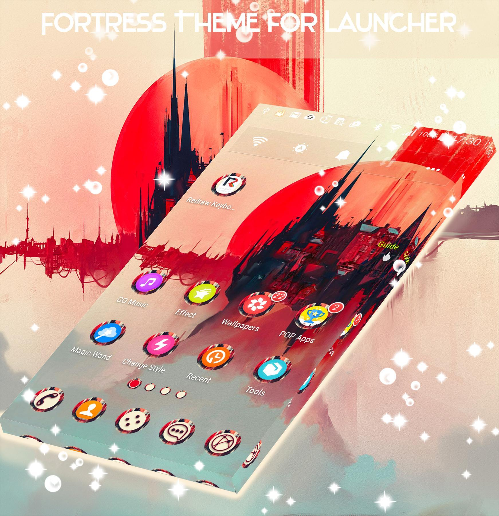 Fortress Theme for Launcher screenshot 3