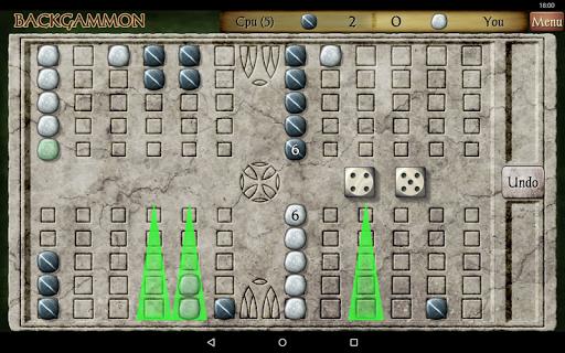 Backgammon Free 21 تصوير الشاشة
