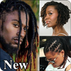 Dreadlocks hairstyles icon