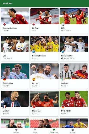 GoalAlert - The fastest football app 9 تصوير الشاشة