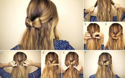 خطوة خطوة الشعر (أنثى) 10 تصوير الشاشة