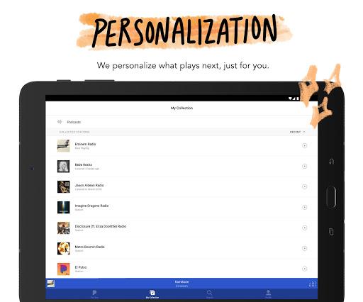 Pandora - Streaming Music, Radio & Podcasts screenshot 9