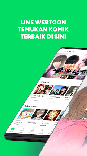 LINE WEBTOON - Temukan Kisahmu screenshot 1