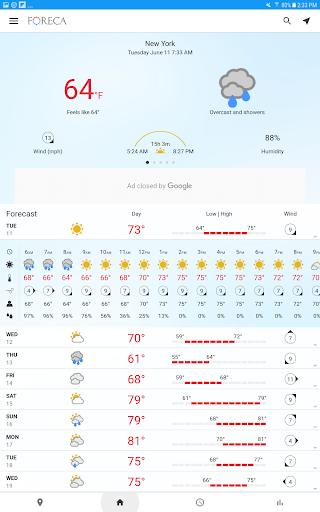 Foreca Weather screenshot 9
