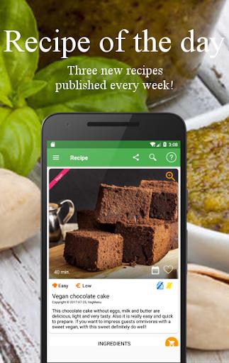 Vegetarian and vegan recipes screenshot 7