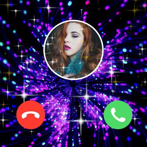 ikon Color Call Flash- Call Screen, Color Phone Flash