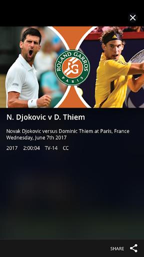Tennis Channel 5 تصوير الشاشة