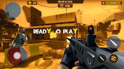 Strike Fire 3d survival Commando Fps 2021 स्क्रीनशॉट 1