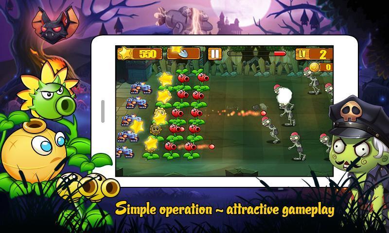 Angry Plants Wars screenshot 1