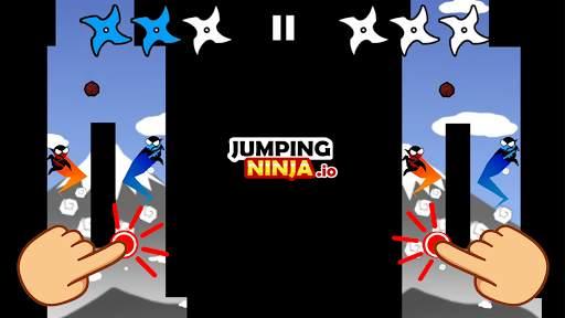 Jumping Ninja Party 2 Player Games screenshot 2