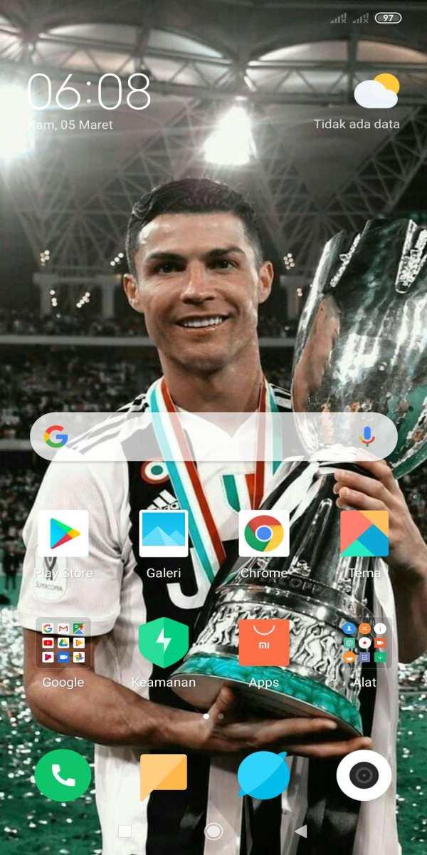 Ronaldo Wallpaper HD 5 تصوير الشاشة