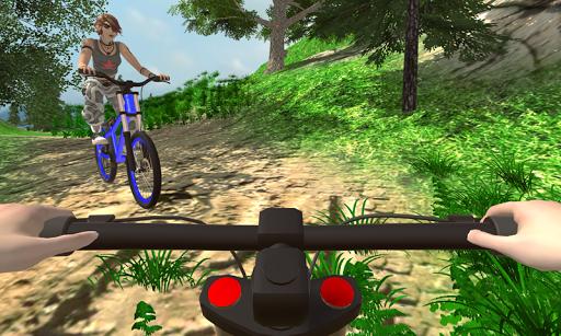 MTB انحدار بي إم إكس دراجه هوائية حيلة المتسابق 1 تصوير الشاشة