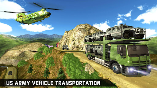 US Army Ambulance Driving Game : Transport Games स्क्रीनशॉट 10