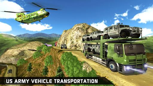 US Army Ambulance Driving Game : Transport Games 10 تصوير الشاشة