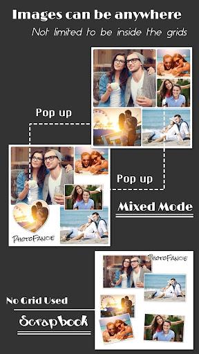 Collage Maker (Layout Grid) - PhotoFancie screenshot 3