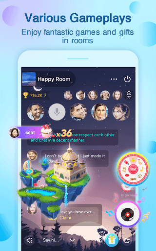 Yalla - Free Voice Chat Rooms screenshot 4