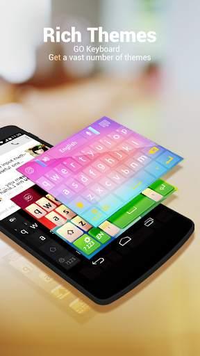 Urdu for GO Keyboard - Emoji screenshot 1